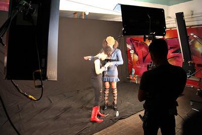 Maya-Cry Love Video Shoot