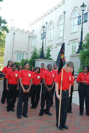 Color Guard/Drill Team Dawg Walk