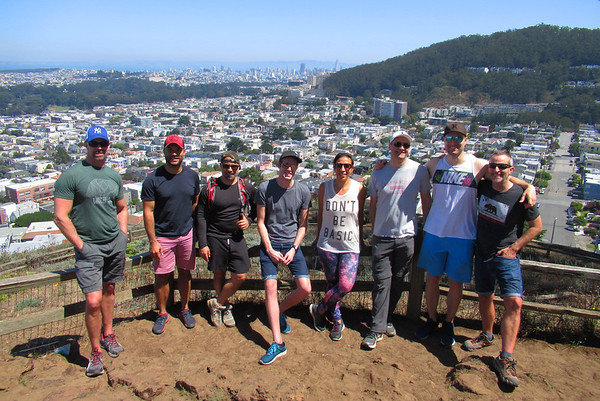 SF Urban Hike: Aug 26, 2017