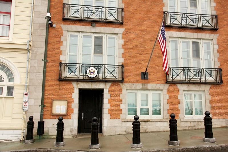 U.S. Consulate. Quebec City, Canada