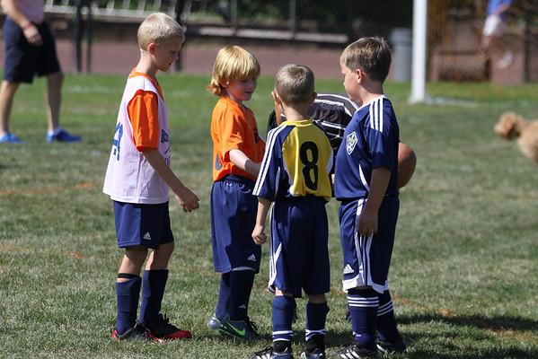 Aidan Soccer 9/16/12