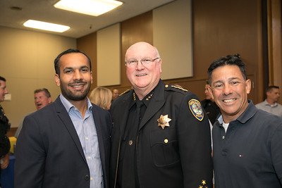 Chief Mike Sellers Retirement - City Hall