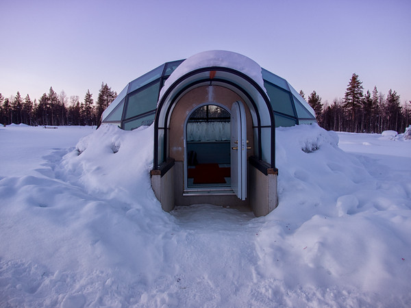 Sun Going Down Over My Igloo
