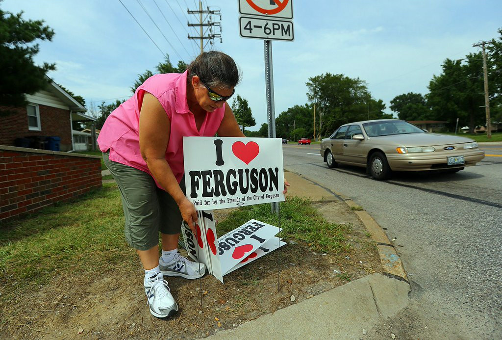 ". 6. FERGUSON <p>Doing better in parts of the city without TV cameras and floodlights. (3) </p><p><b><a href=""http://www.economist.com/news/united-states/21613272-police-missouri-suburb-demonstrate-how-not-quell-riot-overkill\"" target=\""_blank\""> LINK </a></b> </p><p>    (Curtis Compton/Atlanta Journal-Constitution/MCT)</p>"