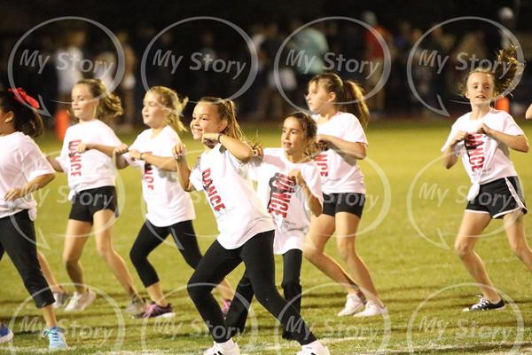 Little Dancers at Hondo 2017 Antonian Football Game