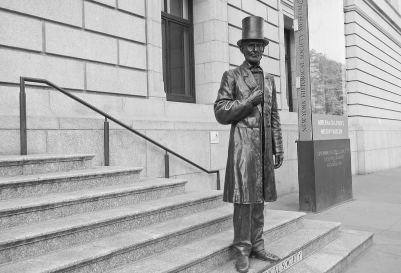 LIncoln at the NY Historical Society
