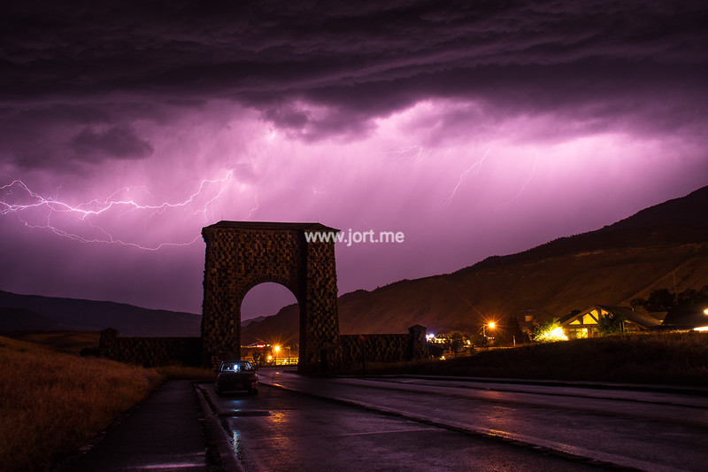Thunder beyond the Arch II