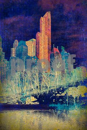 Hallucinating in Central Park