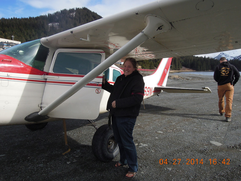 Landing in Nanwalek was the most fun ever!