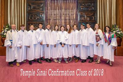 170519 Temple Sinai 2018 Confirmation Class