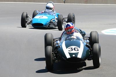 2007 Monterey Historics - Formula Cars - on track