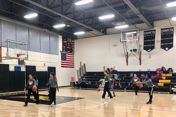 Fallsburg vs. Rondout Valley Girls Basketball 12-3-18