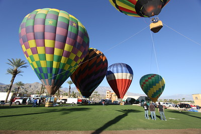 Cathedral City Balloon Festival 2015