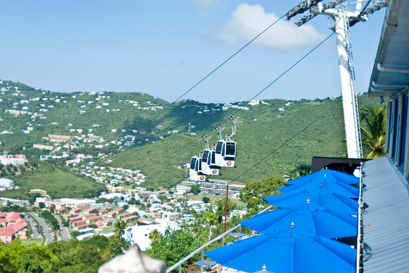 Paradise Point Sky Ride overlook