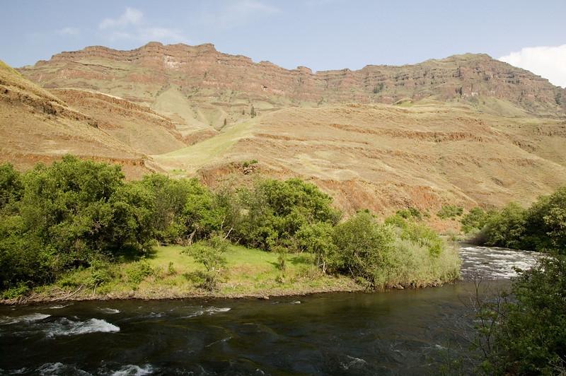 The Imnaha river.