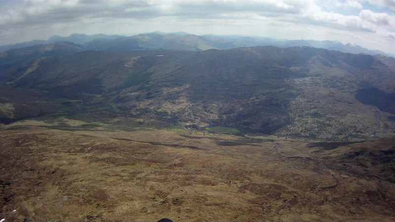 SE down Glen Lochay towards Killin.