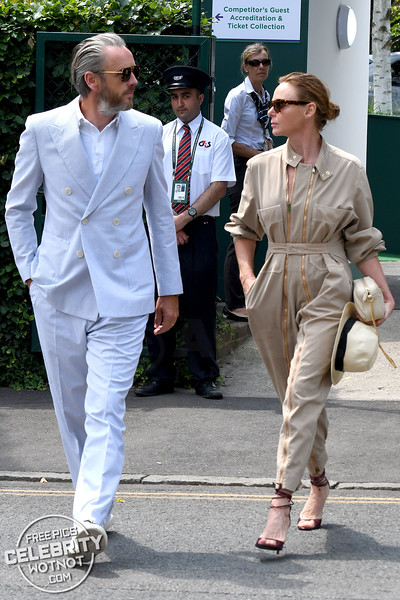 Boilersuit Babe! Stella McCartney In Stella McCartney With Hubby Alasdhair Willis