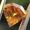 .84ct Fancy Deep Orange-Yellow Shield Shape Diamond, GIA 2