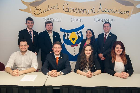 Spring 2015 SGA Executive Council