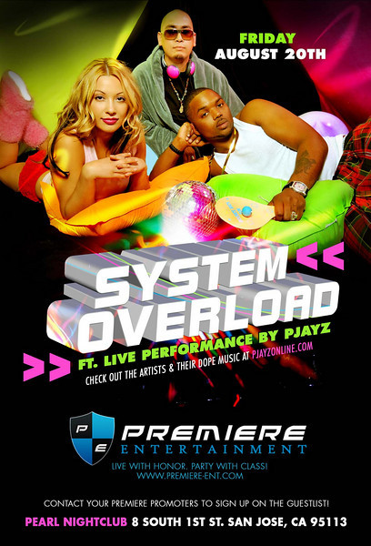8/20 [SYSTEM OVERLOAD FT. PJAYZ LIVE PERFORMANCE]