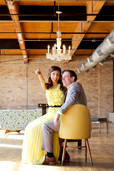 Le Cape Weddings - Neha and James Engagement Session at Salvage One Chicago - Indian Wedding  068.jpg