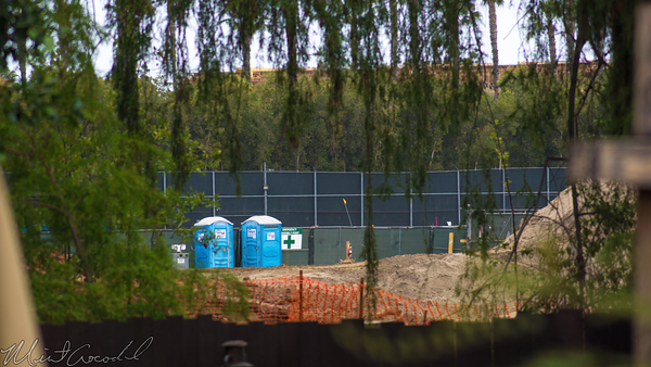 Disneyland Resort, Disneyland, Frontierland, Big, Thunder, Mountain, Railroad, Jamboree, Ranch, Trail, Star, Wars, Construction