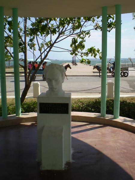 JoseMarti Bust Cienfuegos - Elizabeth Yerkes