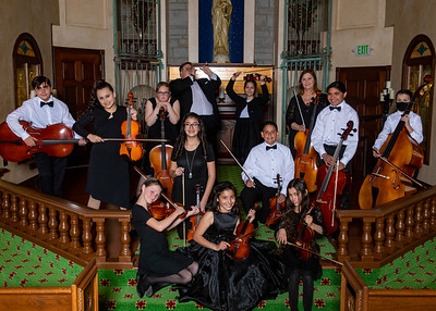 Mt. Carmel Youth Orchestra April 2021