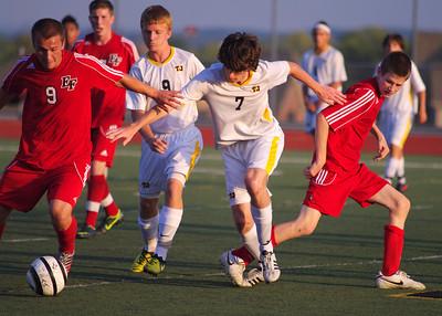 2012-09-13 Boys Varsity vs EF