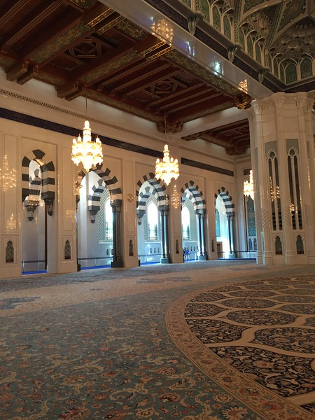 Sultan Qaboos Grand Mosque in Muscat, Oman - Bridget St. Clair
