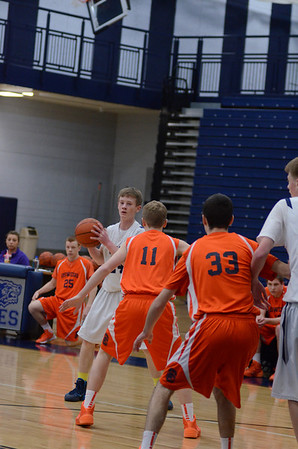 Oswego East fresh. boys basketball Vs Oswego
