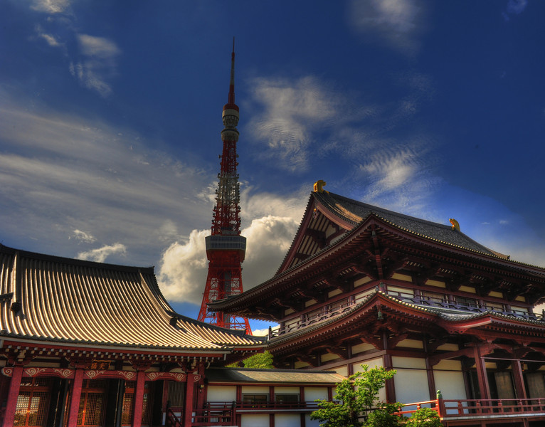 (C) 2010 Brian Neal  One of my favorites, Temple in the foreground and the Tower behind...
