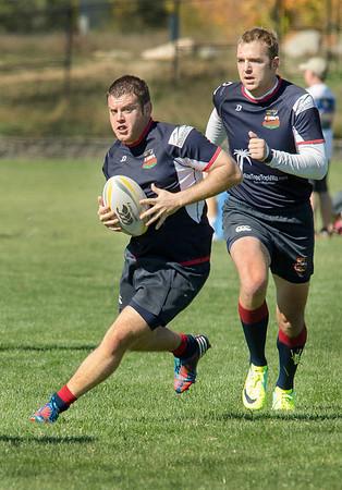 Boulder Rugby vs CU - Men's Rugby - 10/19/13