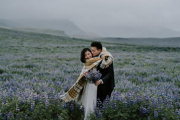 V + W | Elopement Hochzeit auf Island