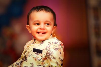Happy 1st Birthday Aarav