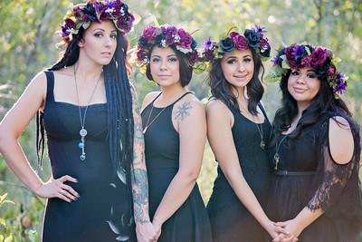 Hawks/Villapando Sisters Shoot