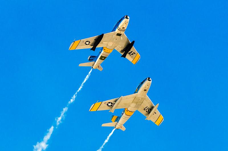 F-86 Sabre Jets   Korean War Vintage