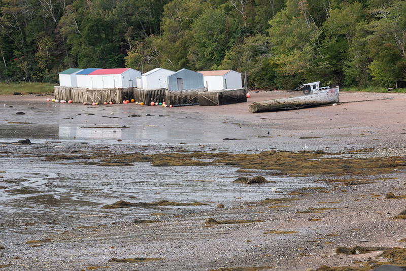 low tide at Sandy Cove Beach, Digby