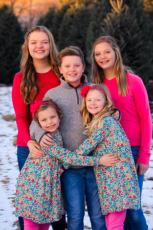 Peters Family 2018