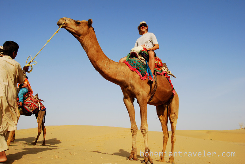 Michael on a Rajasthan Camel Safari.jpg