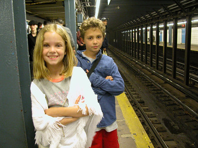 Vacations\2005 Travels\Kids in New York