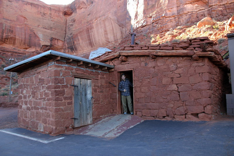 Monument Valley - John Wayne's cabin