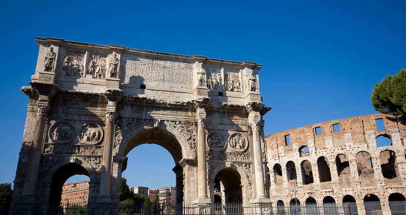 Archway to the Coliseum