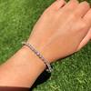 9.50ctw Round Brilliant Diamond Tennis Bracelet 16