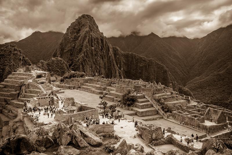 Stunning Machu Picchu.