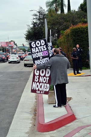Westboro Baptist Church @ Shalhevet