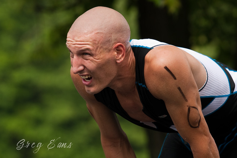 Lakewood Valley Triathlon winner Matthew Bartsch. Whitesville, KY. 2010