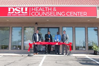 Health and Counseling Center Ribbon Cutting