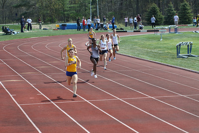 Men's and Women's 400 Meters - 2012 Northwood University T&F Invite