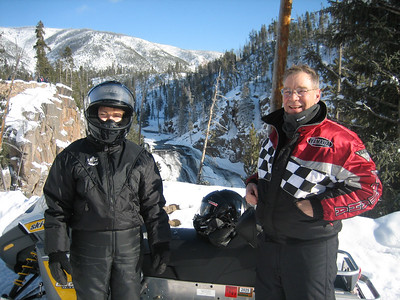 YELLOWSTONE SNOWMOBILE TRIP with MIKE & SUE EAGAN, JAN 07